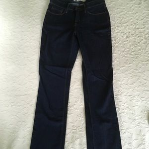 LEVIS 525 Perfect Waist Straight Leg Blue Jeans 4